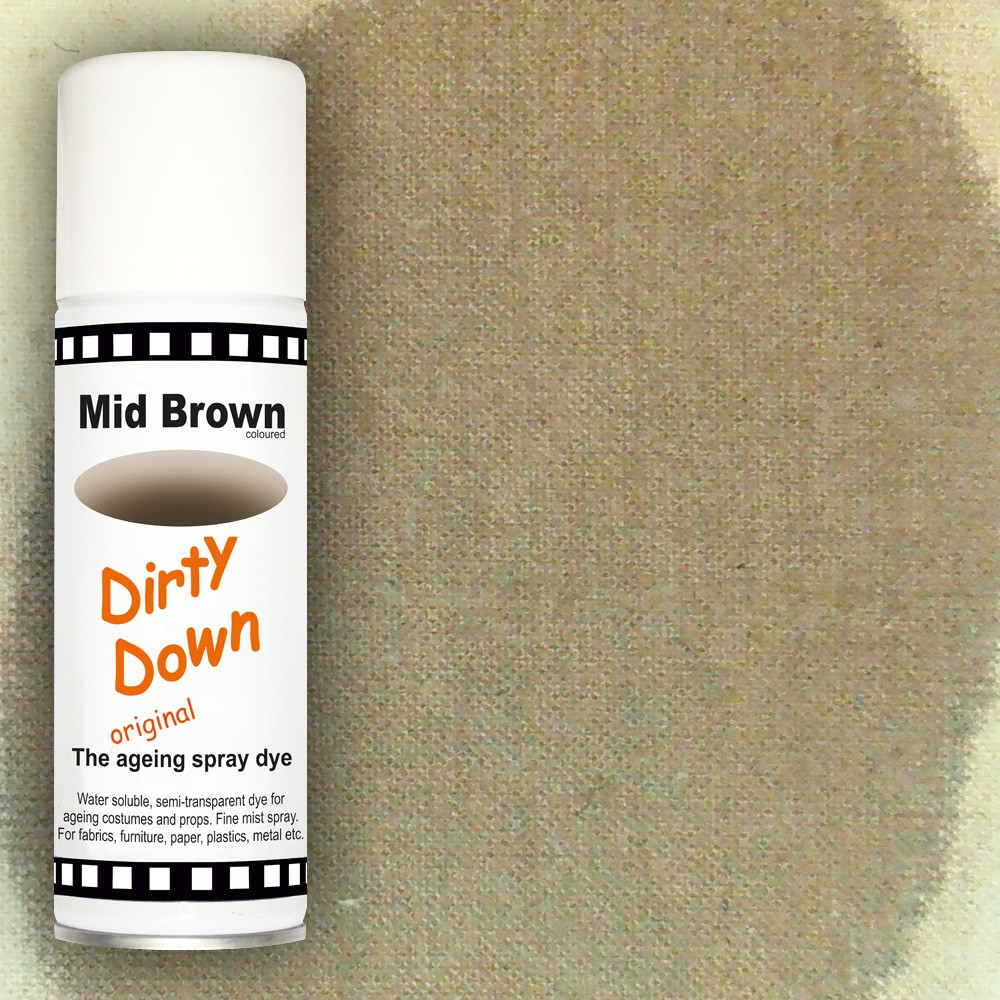 """""""Mid Brown"""" sprej za patiniranje"""