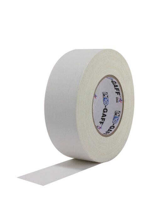 PRO GAFF® Mat platnena traka bela