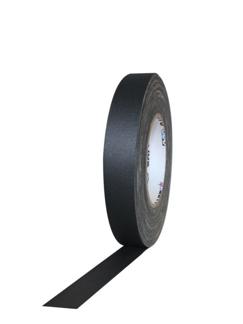 PRO GAFF® Mat platnena traka crna