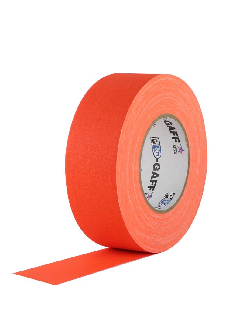 PRO GAFF® Mat platnena traka fluo oranž