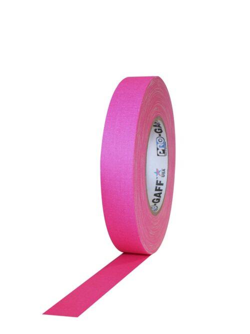 PRO GAFF® Mat platnena traka fluo pink