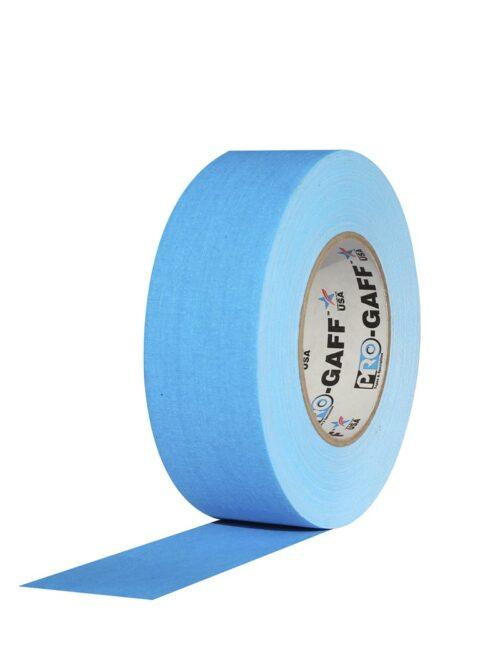 PRO GAFF® Mat platnena traka fluo plava