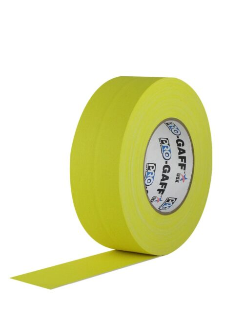 PRO GAFF® Mat platnena traka žuta