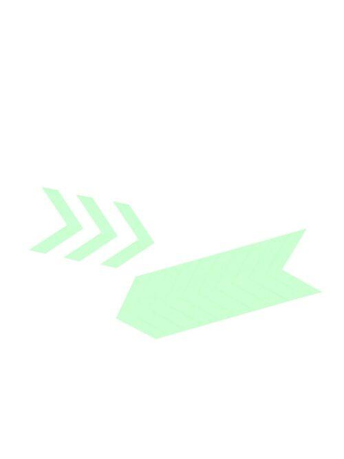 PRO GLOW® uglovi -Traka koja svetli u mraku