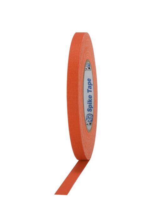 PRO® SPIKE Mat platnena traka fluo oranž