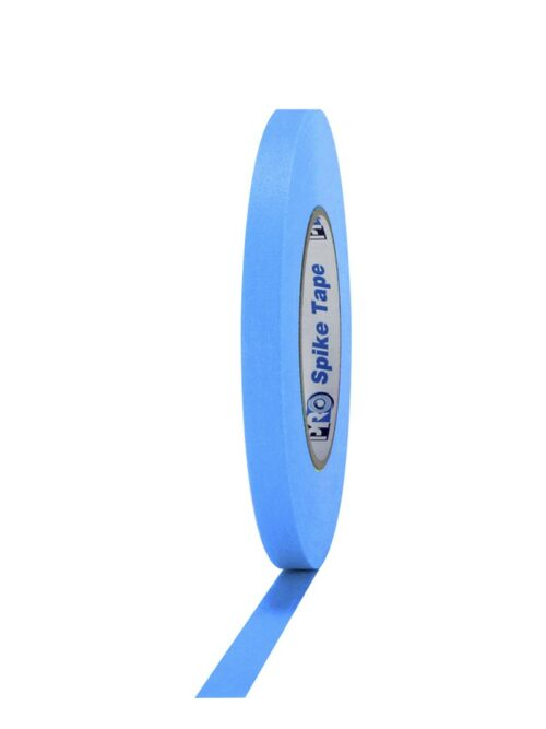 PRO® SPIKE Mat platnena traka fluo plava