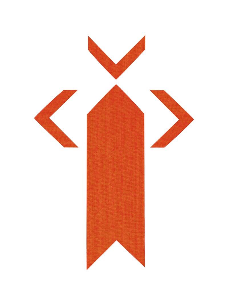 PRO® Spike uglovi fluo oranž