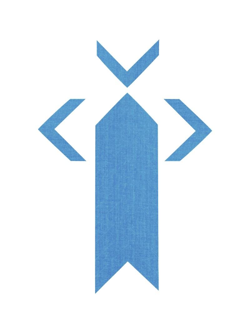 PRO® Spike uglovi fluo plava
