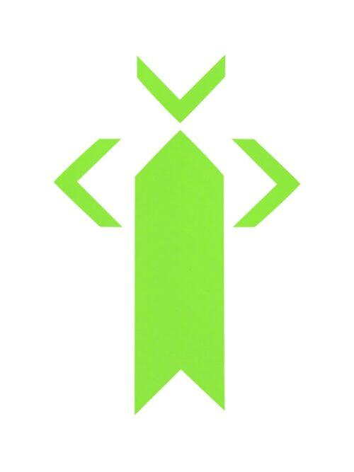 PRO® Spike uglovi fluo zelena