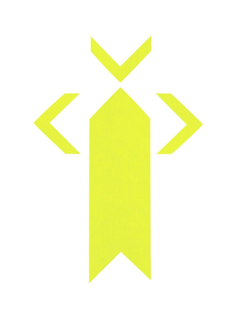 PRO® Spike uglovi fluo žuta