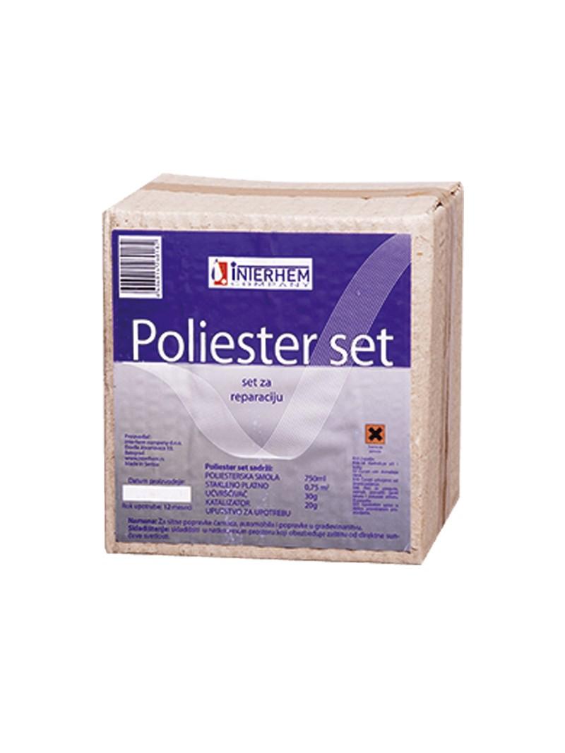 Poliester set