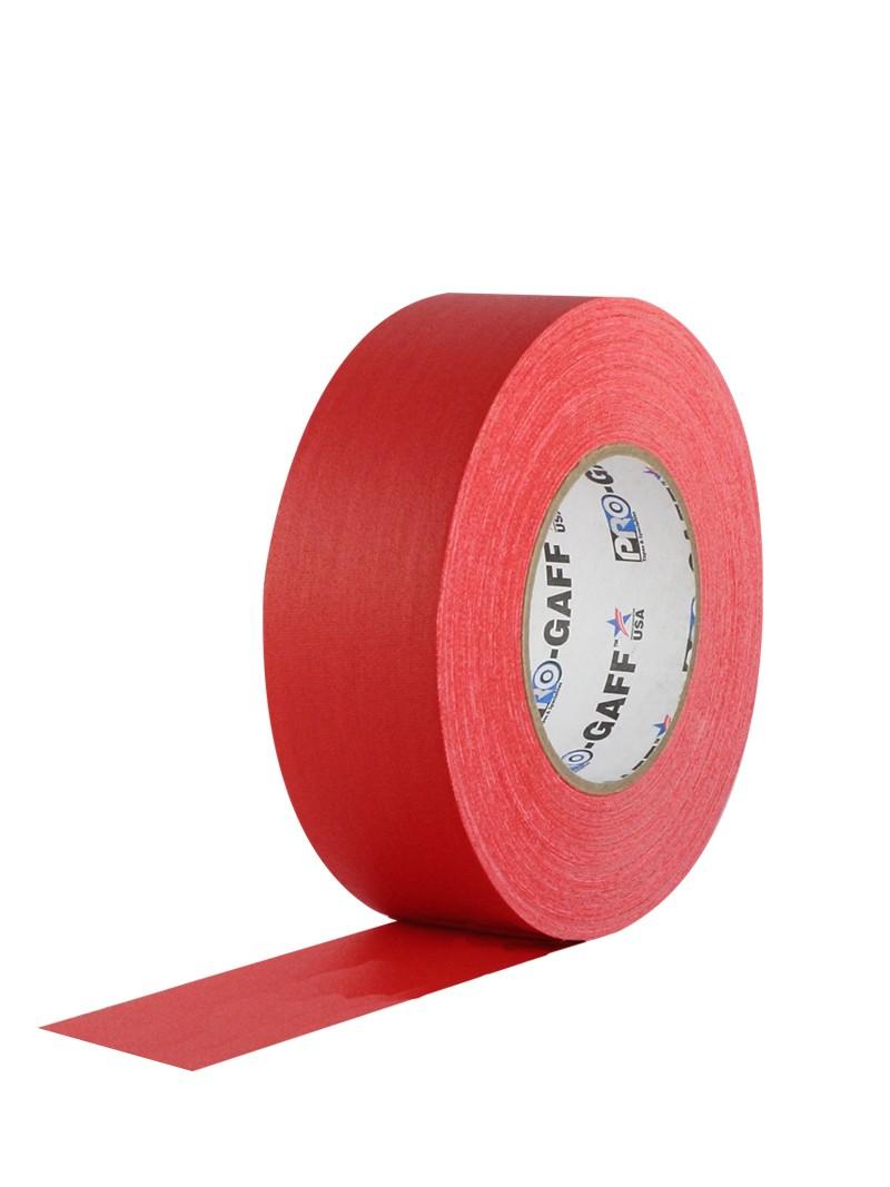 PRO GAFF® Mat platnena traka crvena