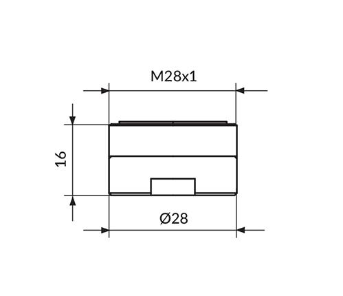 PERLATOR NEOPERL M28 - HONEYCOMB
