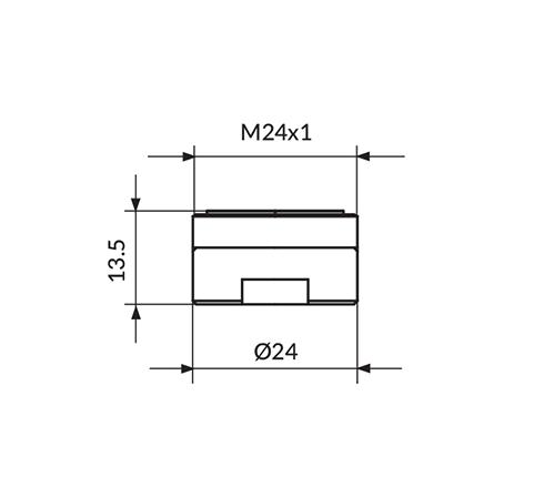 PERLATOR NEOPERL M24 - HONEYCOMB